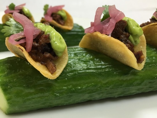 Braised Kobe beef taquitos